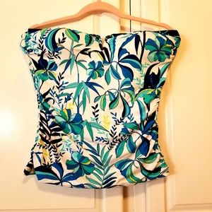 New Tommy Bahama large floral tankini